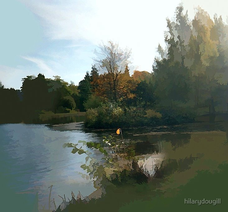 Lakeside by hilarydougill