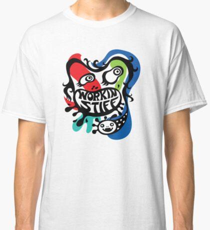 Workin' Stiff - primary colors Classic T-Shirt