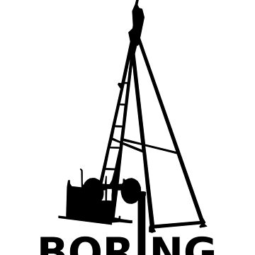 Boring (Black) by Ragetroll