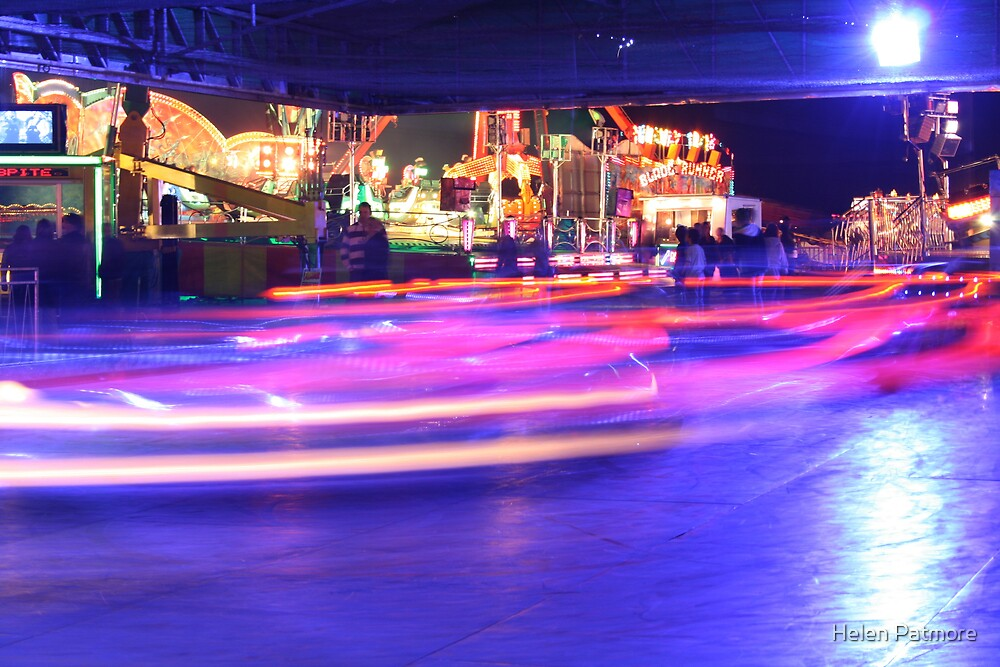 Dodgems by Helen Patmore