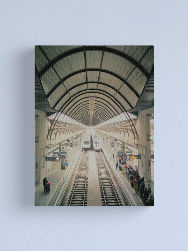Alternate view of Seville Train station 2016 Canvas Print