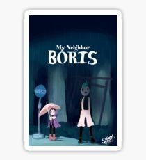 My Neighbor Boris Sticker