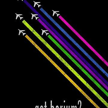 Got barium?  Chemtrail T-Shirt by djhypnotixx