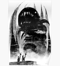 Death Worm Two Mounts Poster