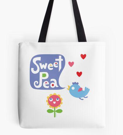 Sweet Pea - on lights Tote Bag