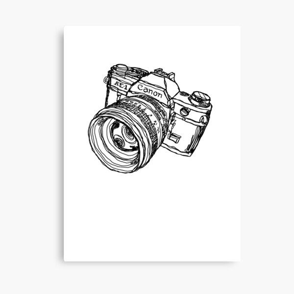 Classic SLR Camera Canvas Print