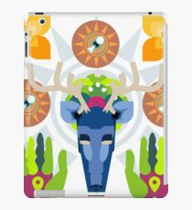 Connect With Your Past (Huichol Spirit) iPad Case/Skin