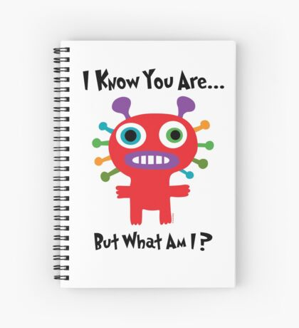 I know you are but what am I? Spiral Notebook