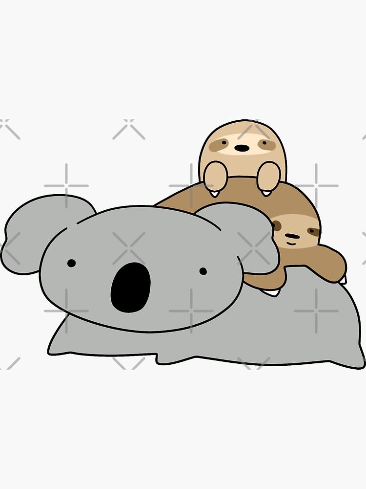 Koala y perezosos de SaradaBoru