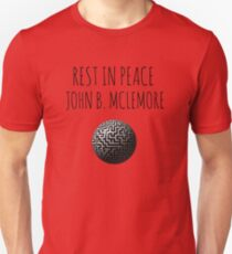 Rest In Peace- John B Mclemore (Spinning Maze) Unisex T-Shirt