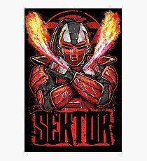 Sektor Mortal Kombat Photographic Print
