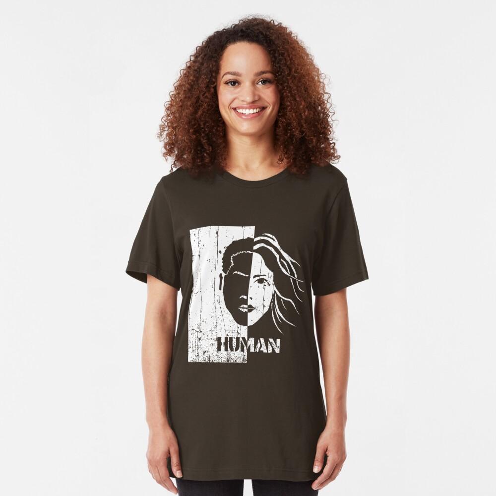 Human Slim Fit T-Shirt