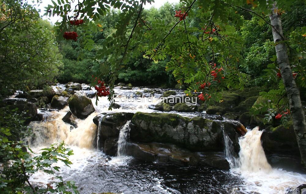 The flesk   falls kerry Ireland by Edward  manley