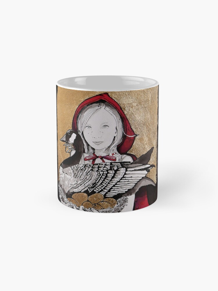 Alternate view of Little Red steals the Goose that laid the golden eggs (and they live happily ever after) Mug