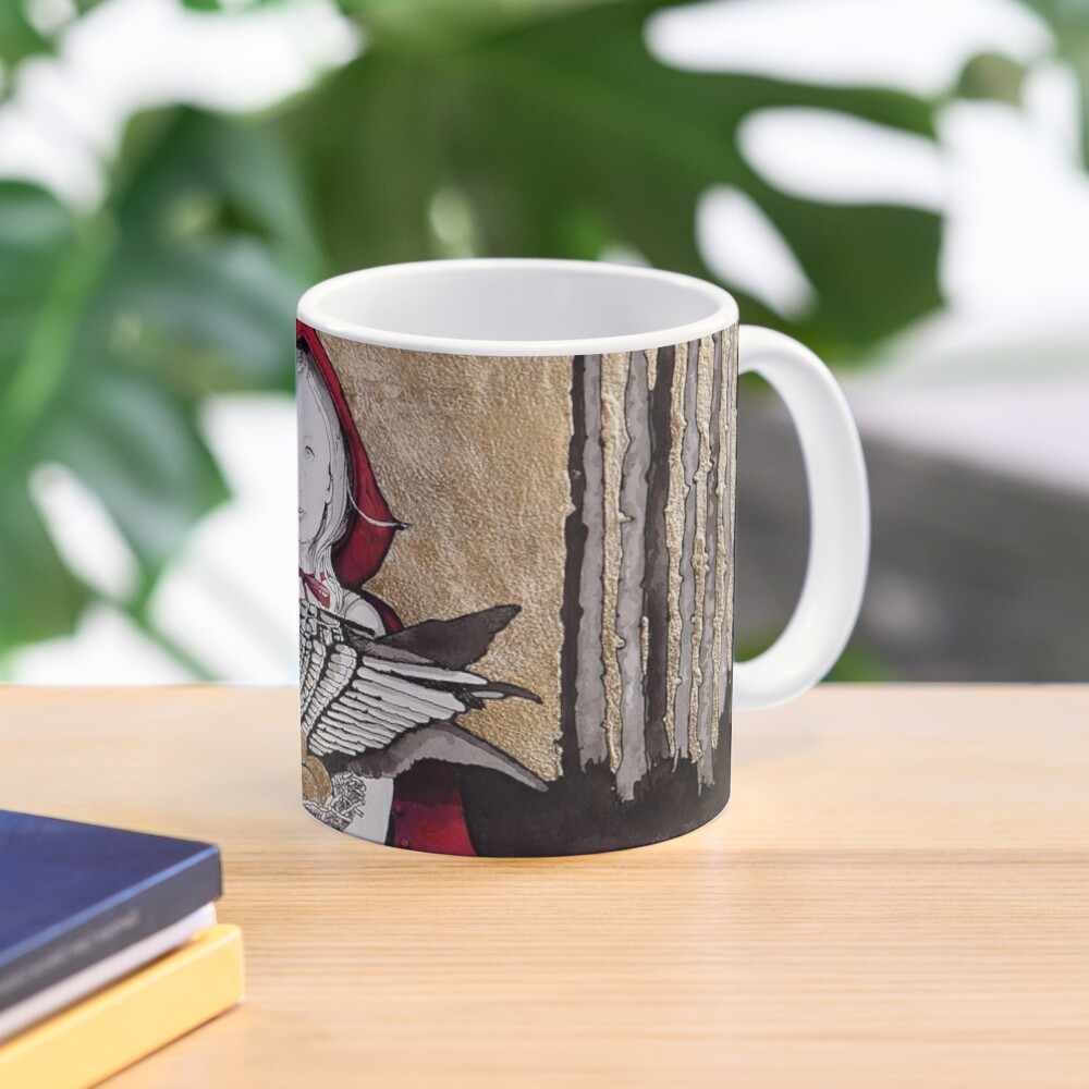 Little Red steals the Goose that laid the golden eggs (and they live happily ever after) Mug