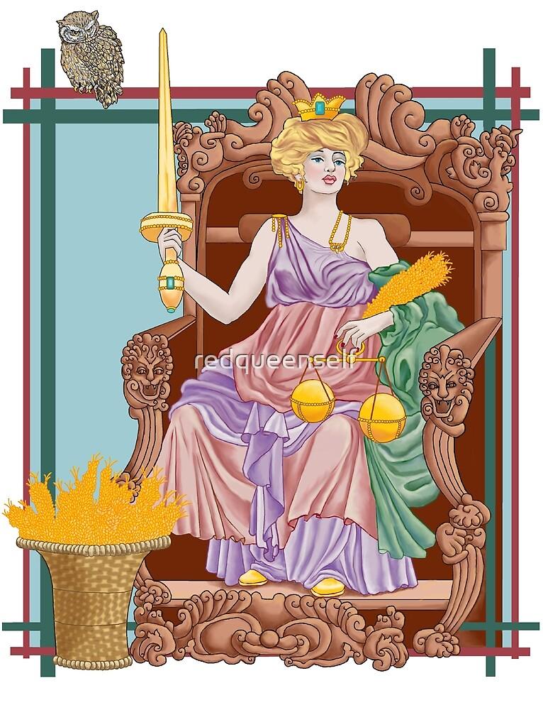 Tarot Justice by redqueenself