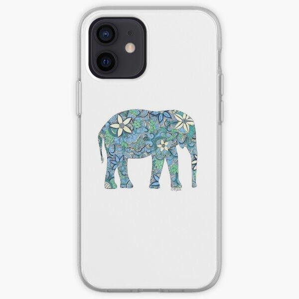Paisley Elephant  iPhone Soft Case