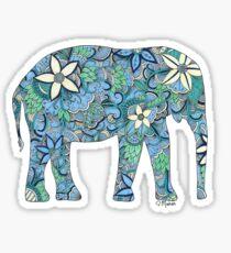 Paisley-Elefant Sticker