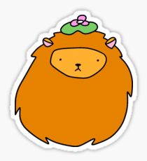 Lily Pad Lion Face Sticker