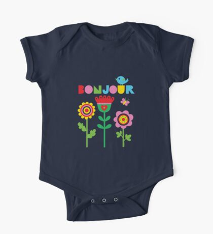 Bonjour - on lights Kids Clothes