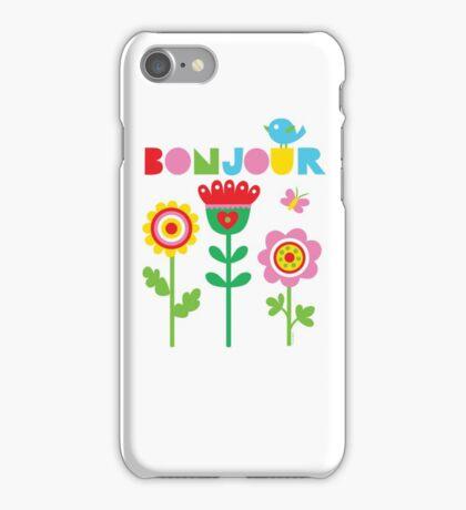 Bonjour - on lights iPhone Case/Skin