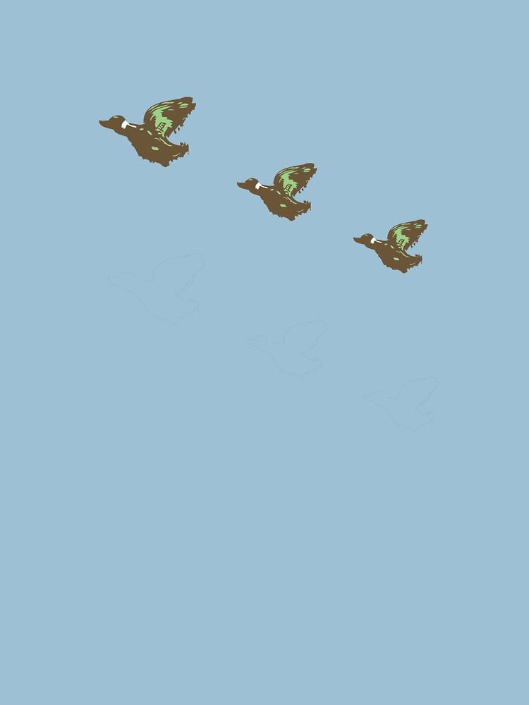 Retro Ducks by stuartm65