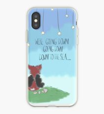 """Down to the sea."" iPhone Case"
