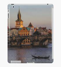 Prague Sunset - by creativetravelers.com iPad Case/Skin