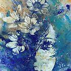 My Great Devastator II (flower girl graffiti painting) by Marco Paludet