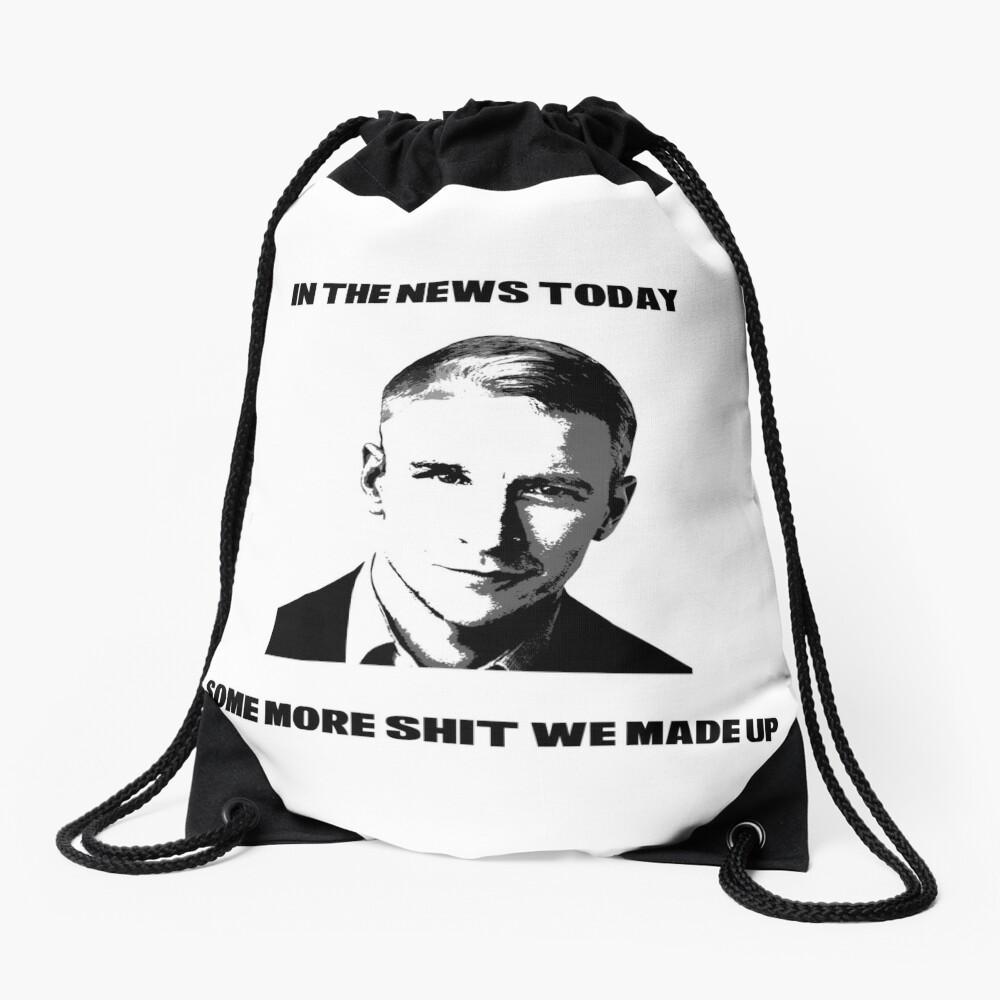 CNN Fake News Drawstring Bag