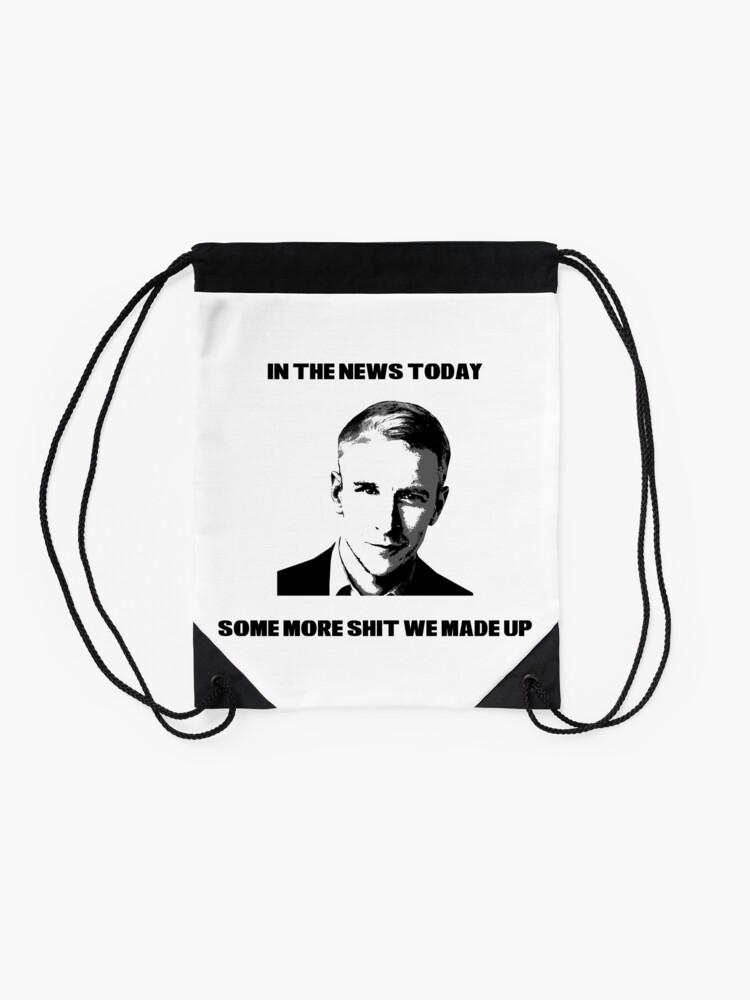 Alternate view of CNN Fake News Drawstring Bag
