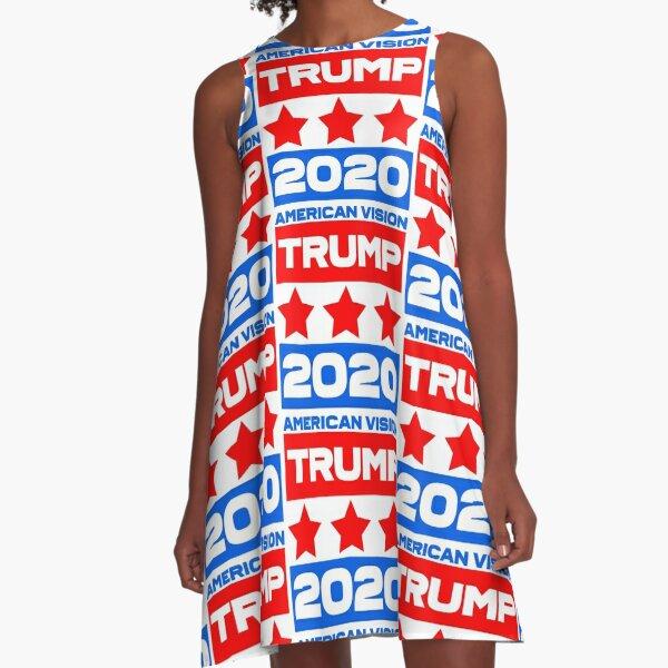 TRUMP 2020 - American Vision A-Line Dress