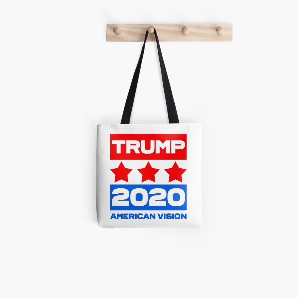 TRUMP 2020 - American Vision Tote Bag