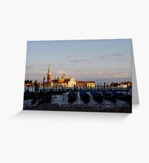 a day in italy Greeting Card