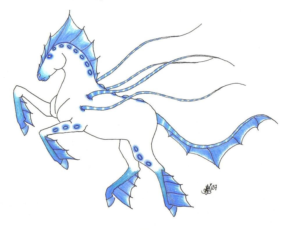 Aquatic Equine by DreamingMyth
