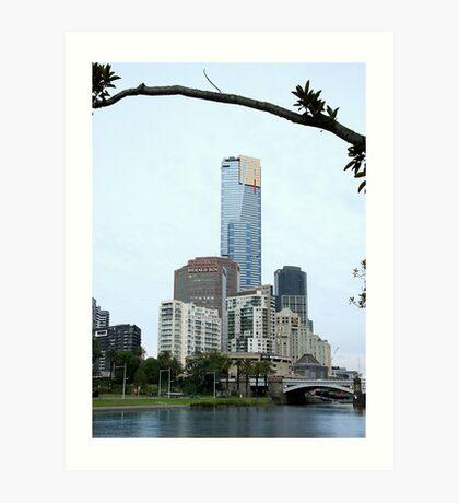 Eureka Tower, Melbourne Art Print