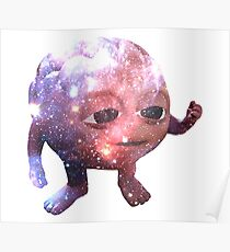 Galaxy Brain Poster