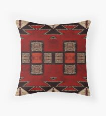 Many Hills  Throw Pillow