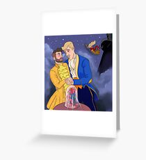 Beauty and the Beast Robron Greeting Card