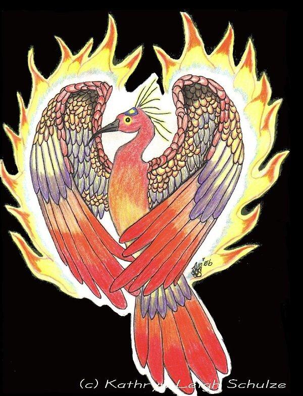 Phoenix by DreamingMyth