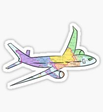 Airplane Stickers | Redbubble