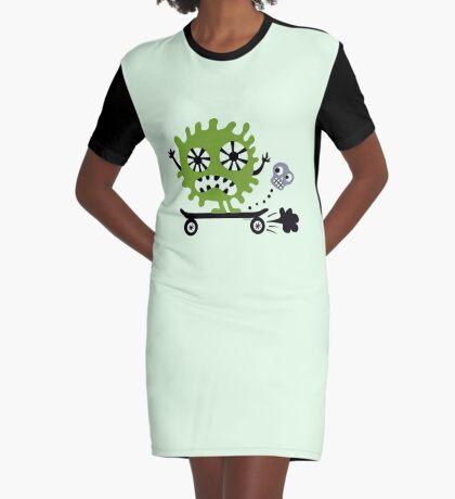 Skateboarder  Graphic T-Shirt Dress