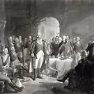 George Washington and His Generals--Oil Painting by Vintage Works