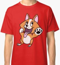 Corgi High Five Classic T-Shirt