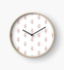 Bluetooth symbol Clock