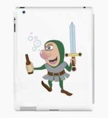 Drunken RPG Knight! iPad Case/Skin