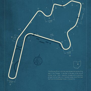 Mid Ohio Sports Car Course by peterdials