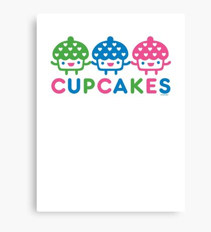 cupcake Fun light Canvas Print