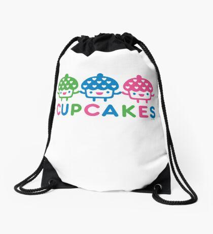 cupcake Fun light Drawstring Bag
