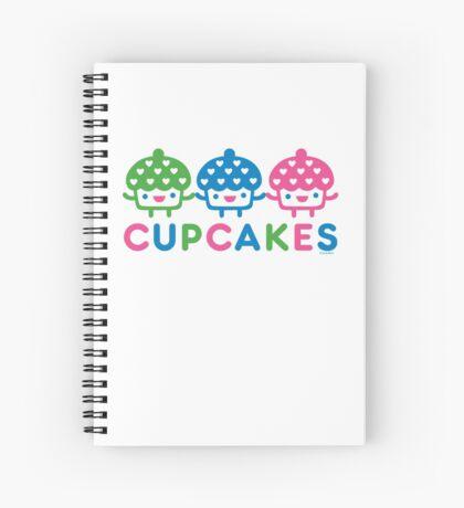 cupcake Fun light Spiral Notebook